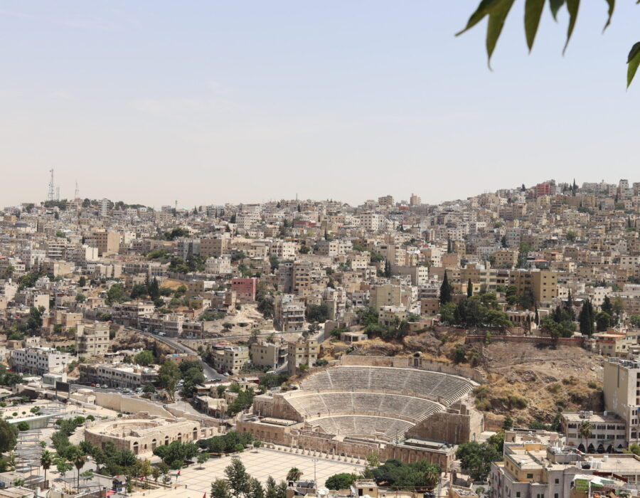 Roman Theater of Amman Jordan
